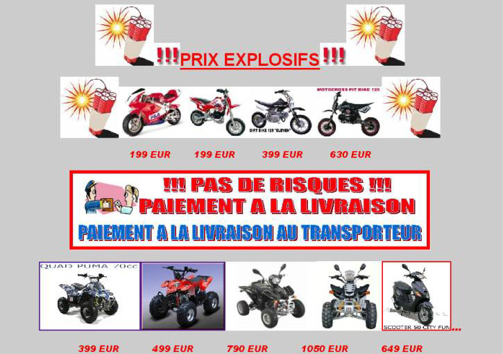 Pocket quad vente pocket quad enfant mini quad